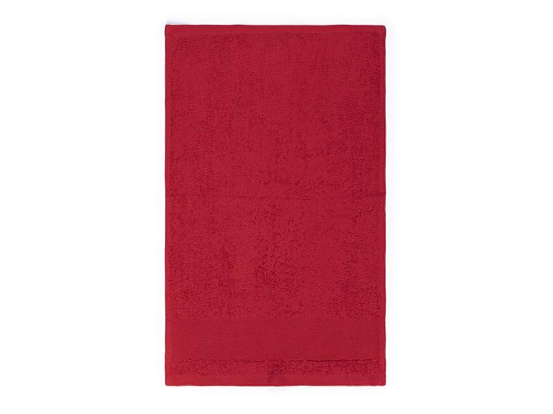 aqua 30 peskir za lice 400 g/m2 crveni makart