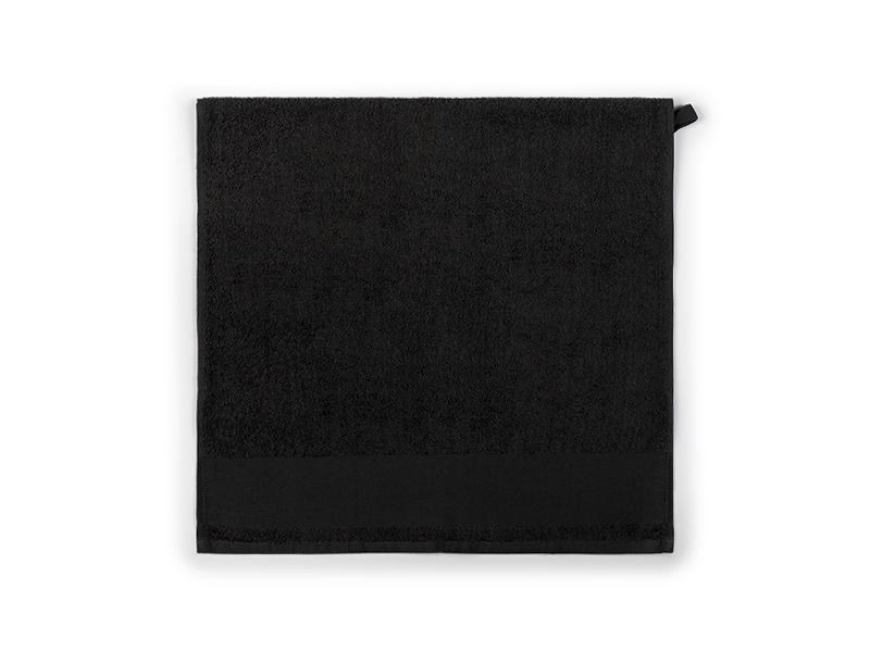 aqua 100 peskir za tusiranje i kupanje 400 g/m2 crni makart