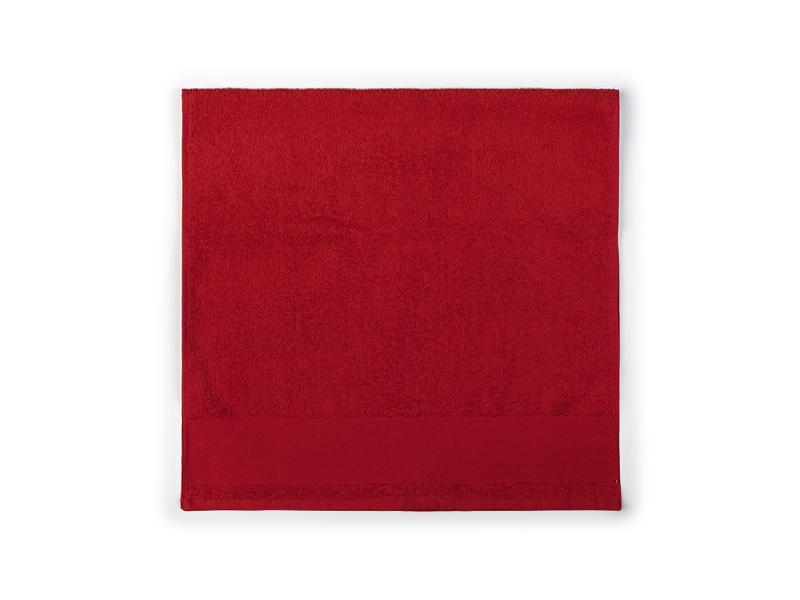 aqua 100 peskir za tusiranje i kupanje 400 g/m2 crveni makart