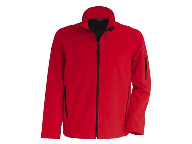 pro wear men softshell jakna crvena makart