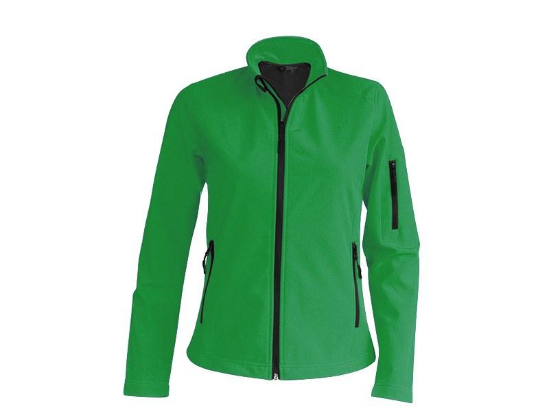 pro wear women zenska softshell jakna keli zelena makart