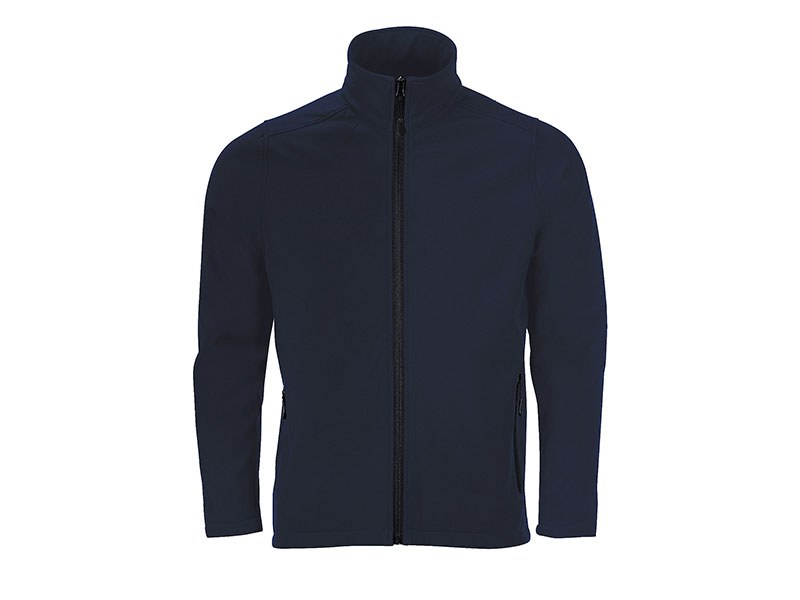 nero softshell jakna plava makart