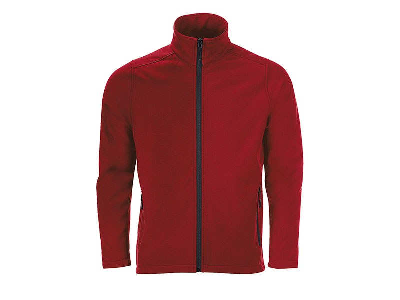 nero softshell jakna crvena makart