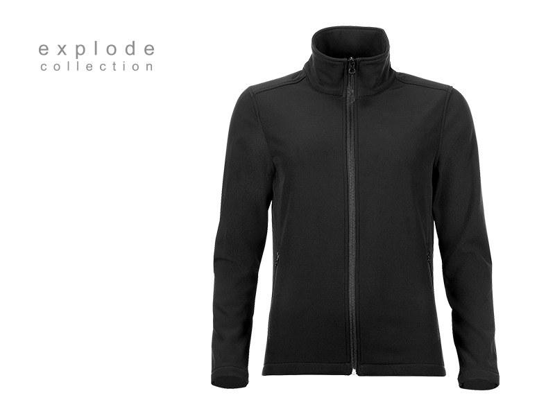 nera zenska softshell jakna crna makart