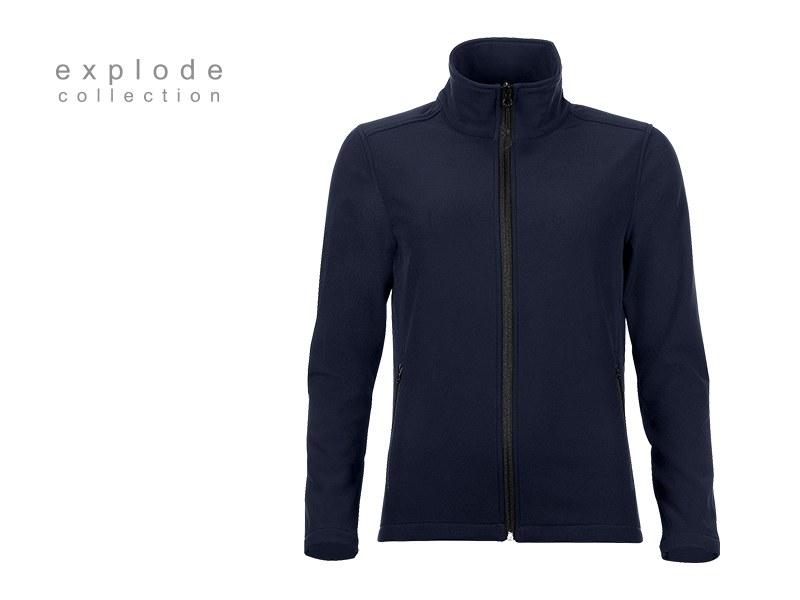 nera zenska softshell jakna plava makart