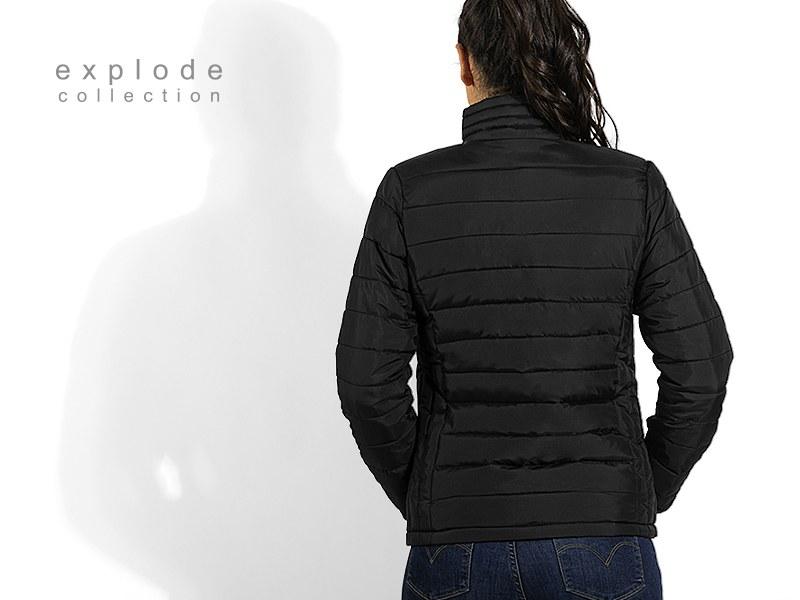 cloud women zenska jakna crna makart