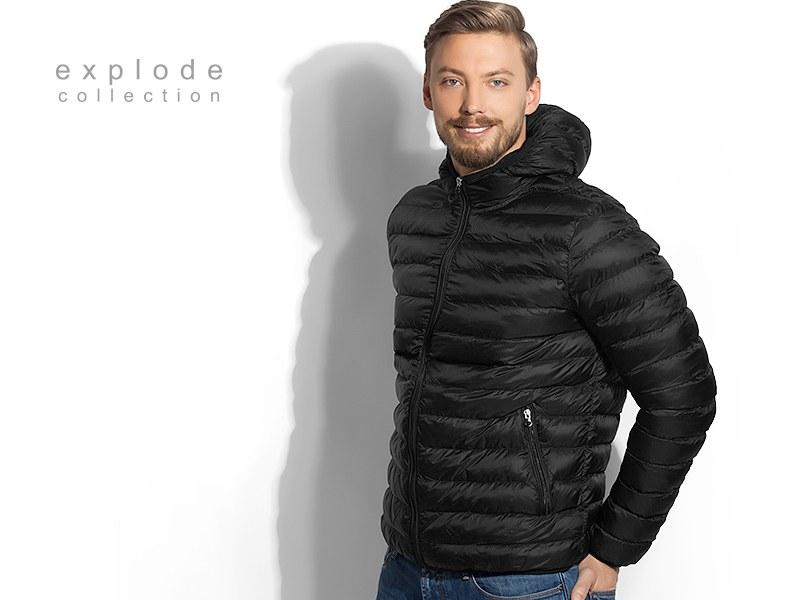 moritz men jakna sa kapuljacom crna makart