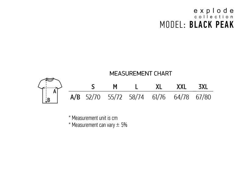 black peak softsel jakna sa kapuljacom crna makart