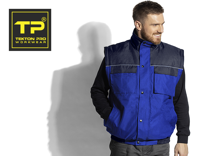 shift radna jakna sa skidajucim rukavima plava makart