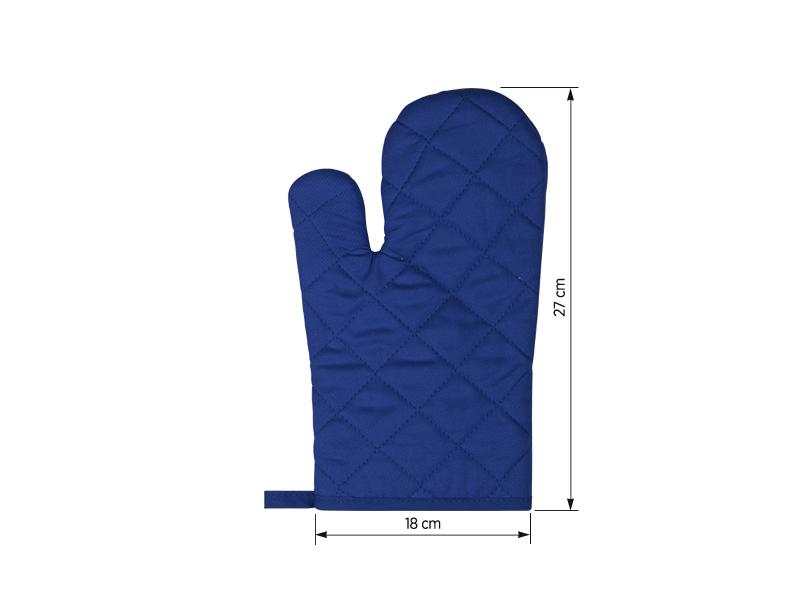 pepper glove platnena rukavica za rernu rojal plava makart