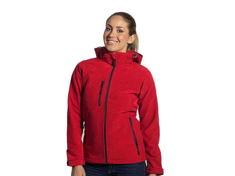 protect women s zenska softshell jakna sa skidajucom kapuljacom crvena makart