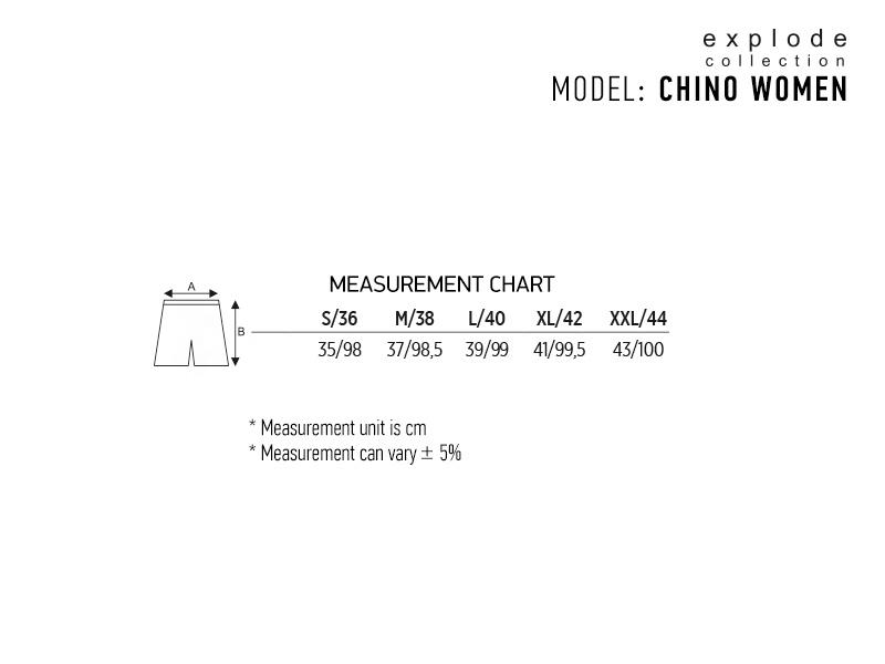 chino women zenske pantalone sive makart