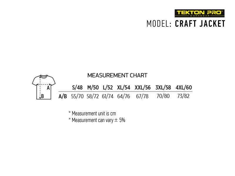 CRAFT JACKET, radna bluza, tamno siva