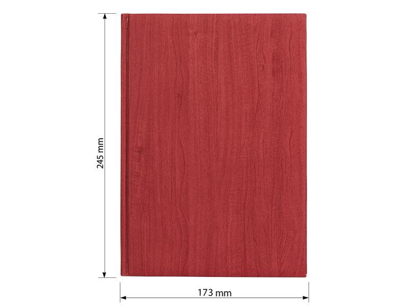 sherwood rokovnik b5 format crveni makart